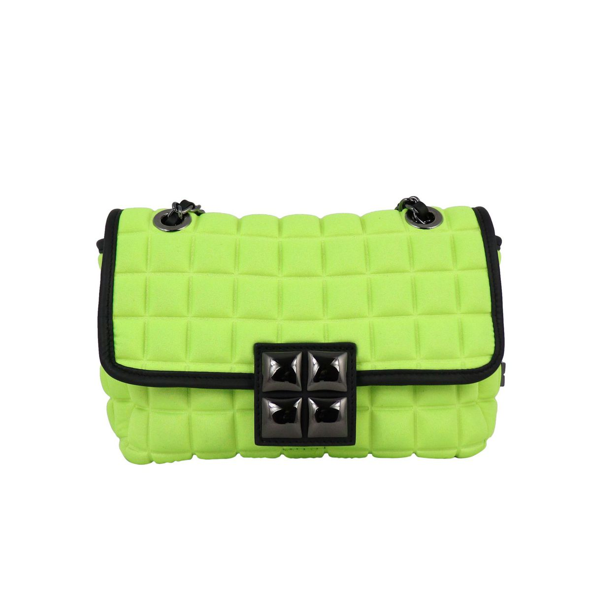 Small New Chain bag Fluo yellow BPRIME