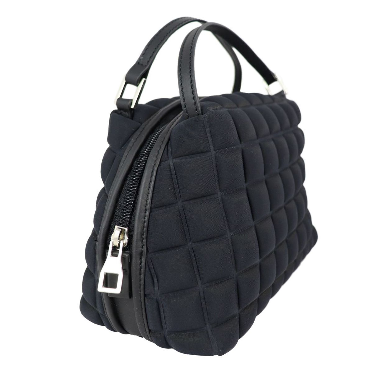 Handy bag in cube fabric Black BPRIME