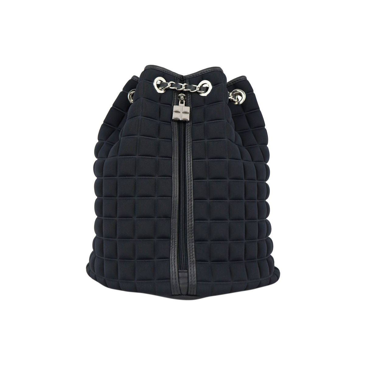 Chain backpack in Cube 3D fabric Black BPRIME