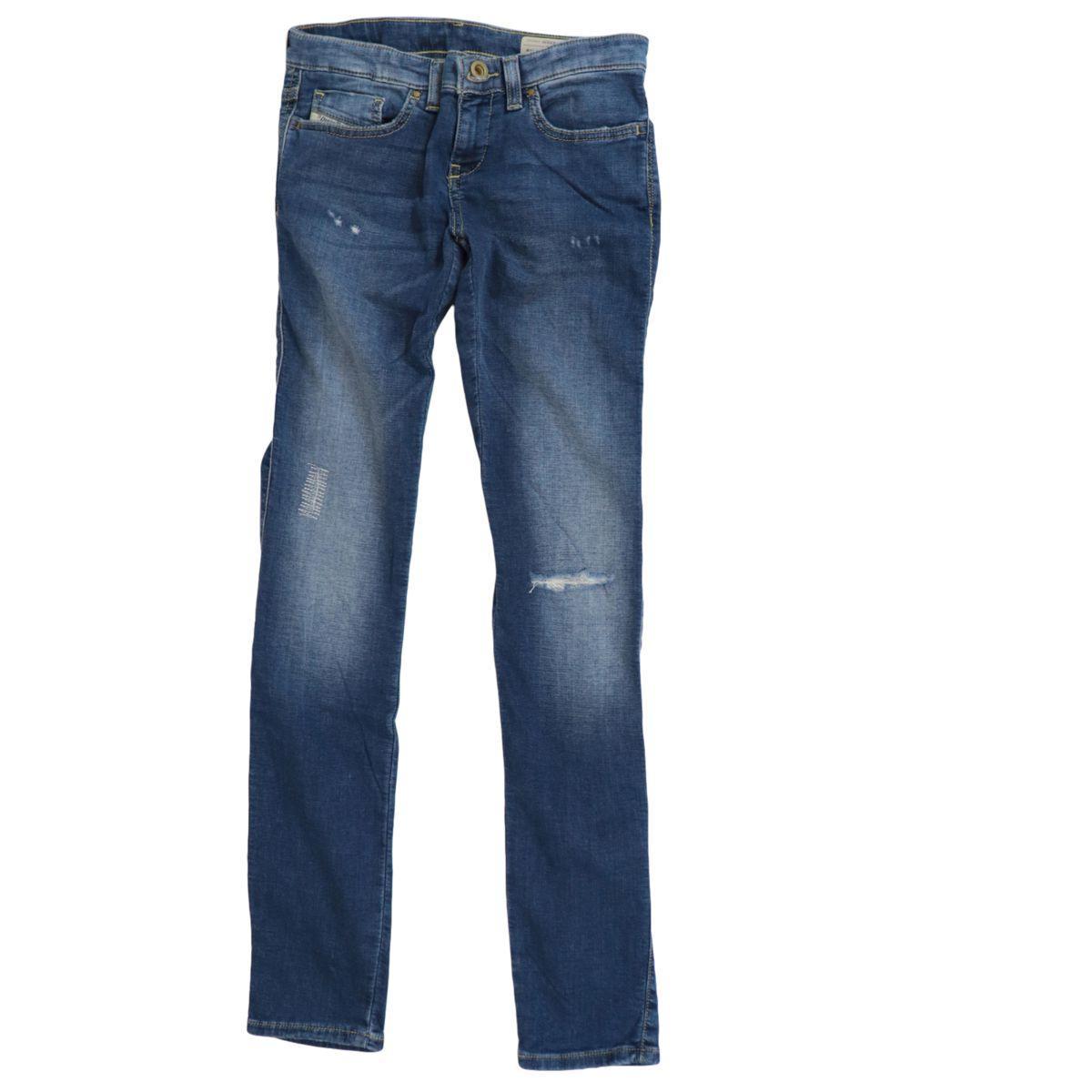 Skinzee Low jeans in stretch denim Medium denim Diesel