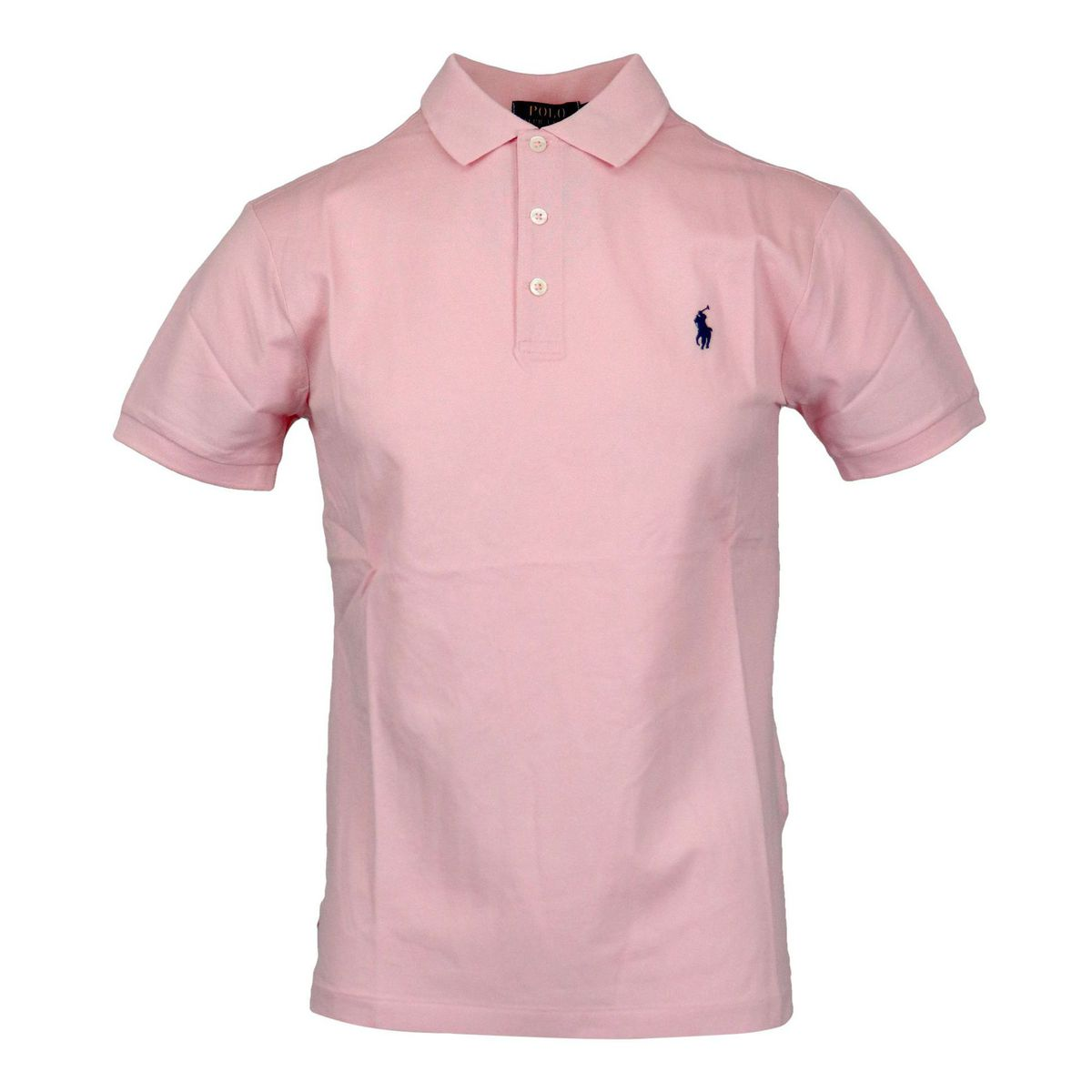 Slim-fit polo shirt in cotton piquèt with logo embroidery Rose Polo Ralph Lauren