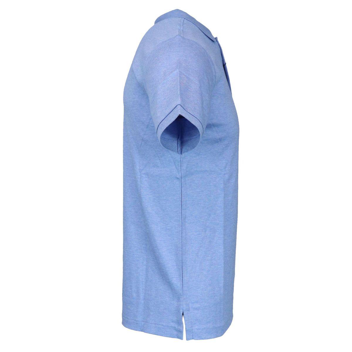 Slim-fit three-button cotton polo shirt Sky Polo Ralph Lauren