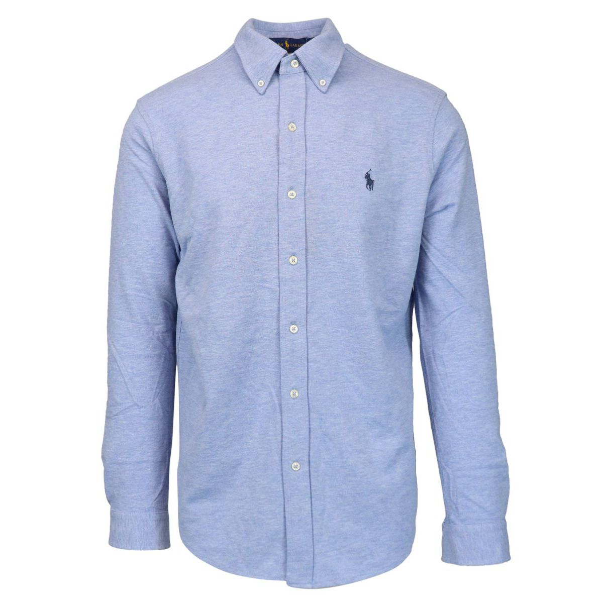 Regular-fit shirt in cotton piquèt with logo embroidery Sky Polo Ralph Lauren