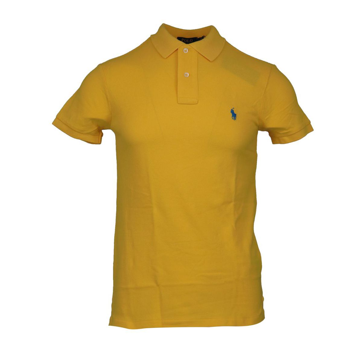 Slim-fit polo shirt In cotton piqué with logo Yellow Polo Ralph Lauren