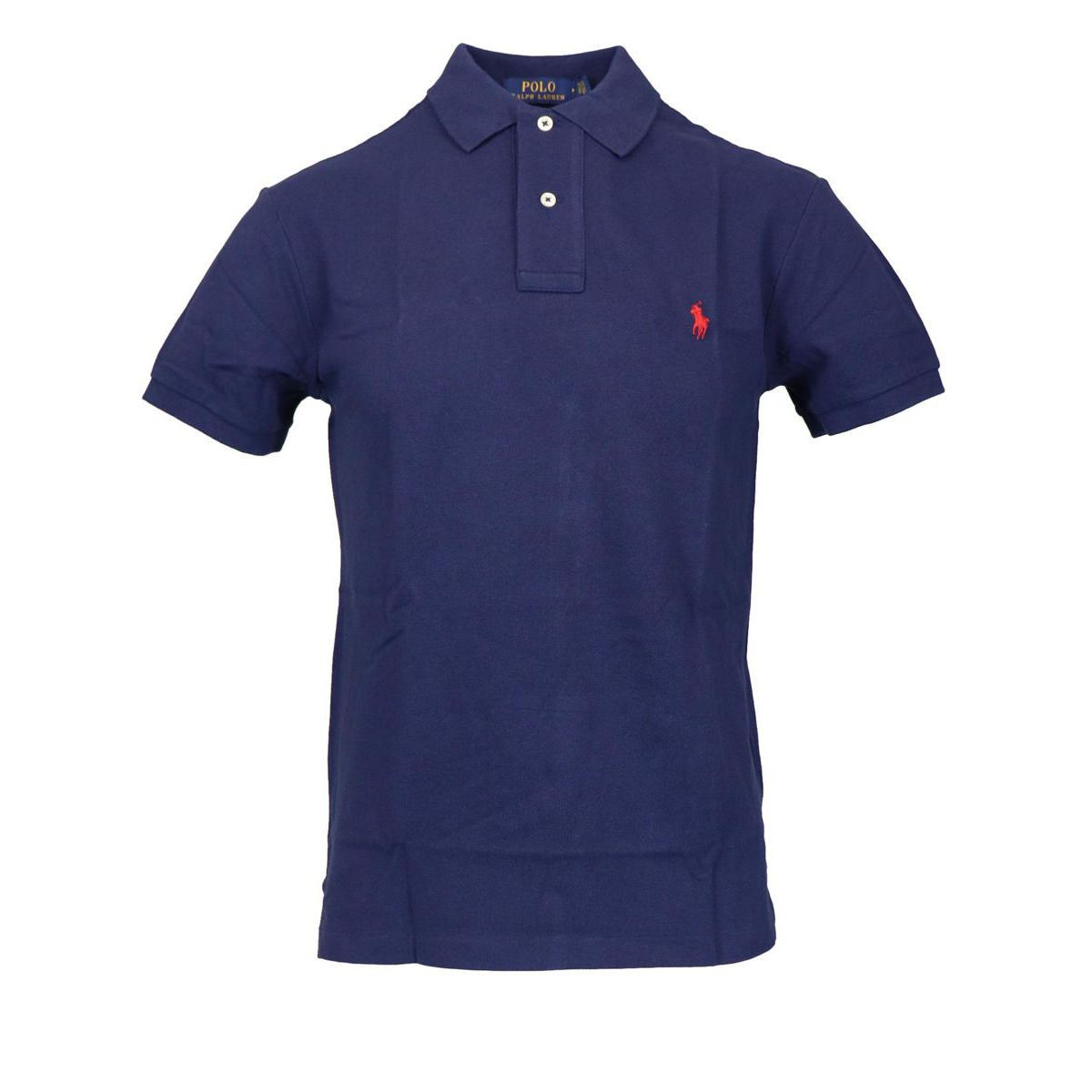 Slim-fit polo shirt In cotton piqué with logo Navy Polo Ralph Lauren