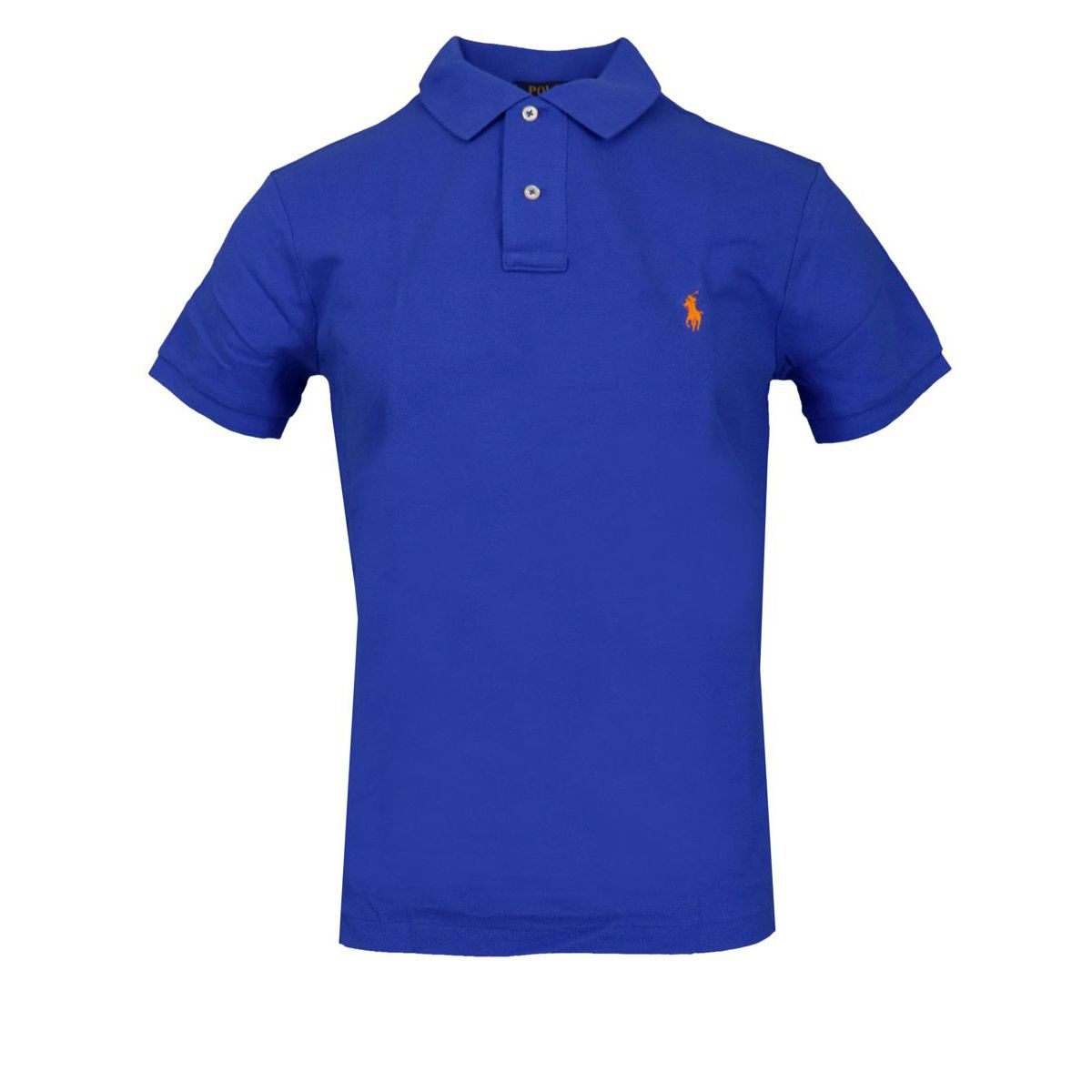 Slim-fit polo shirt In cotton piqué with logo Indigo Polo Ralph Lauren