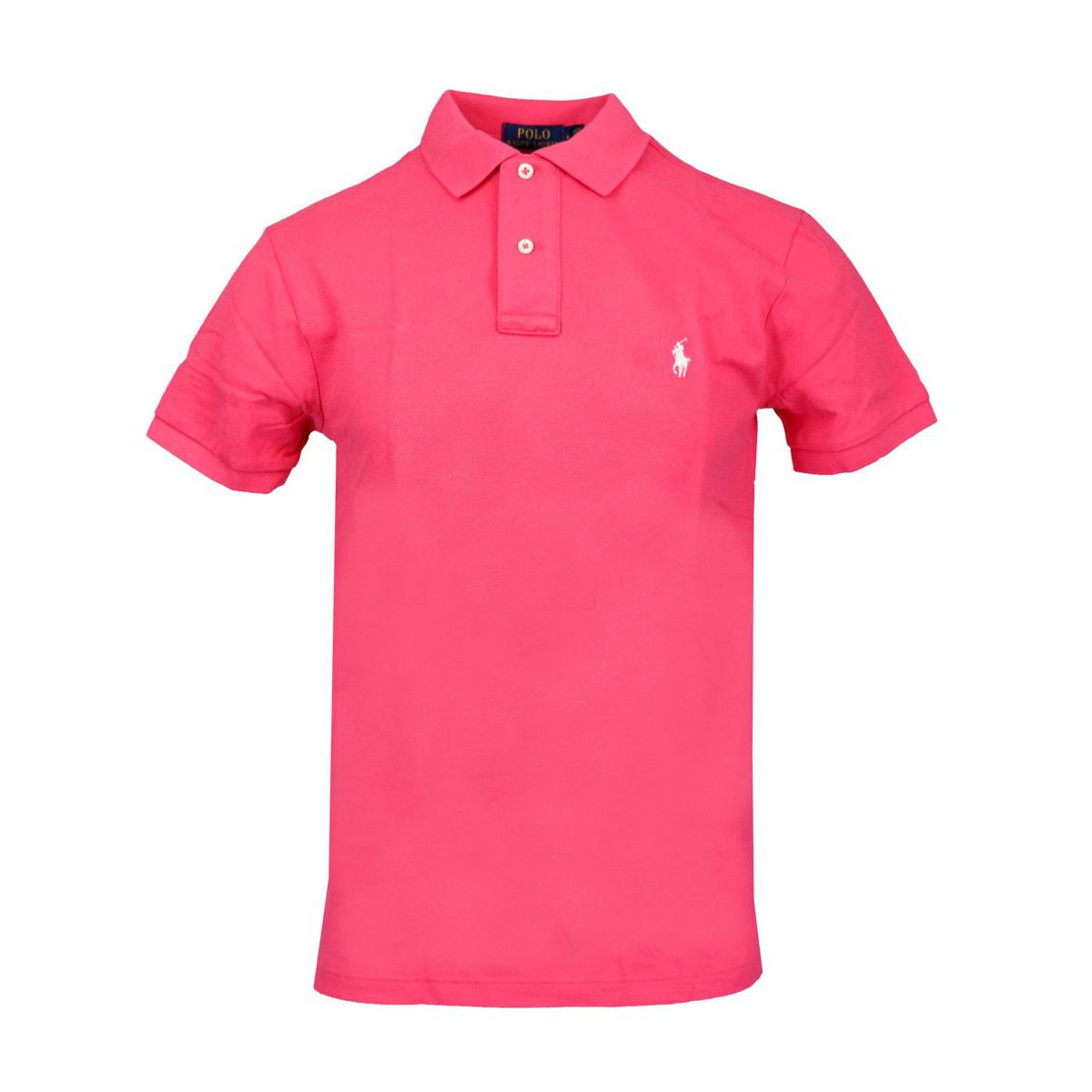 Slim-fit polo shirt In cotton piqué with logo Rose Polo Ralph Lauren