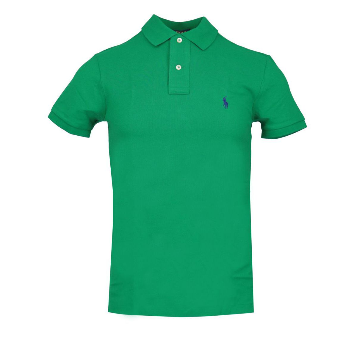 Slim-fit polo shirt In cotton piqué with logo Dark green Polo Ralph Lauren
