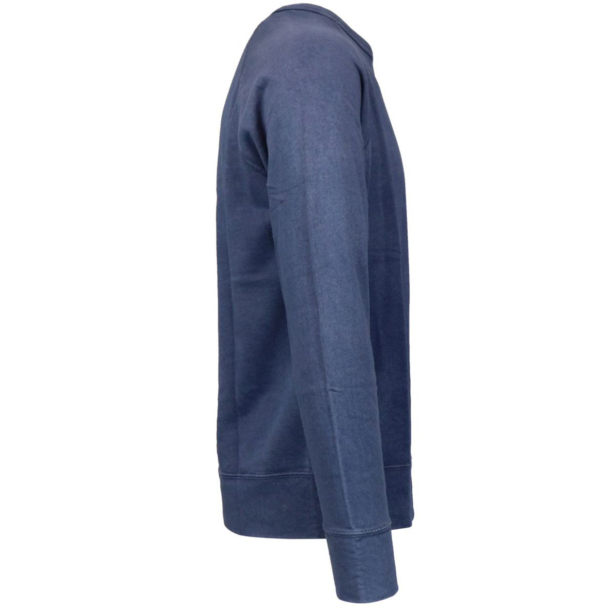 Crewneck cotton sweatshirt with contrasting logo embroidery Navy Polo Ralph Lauren