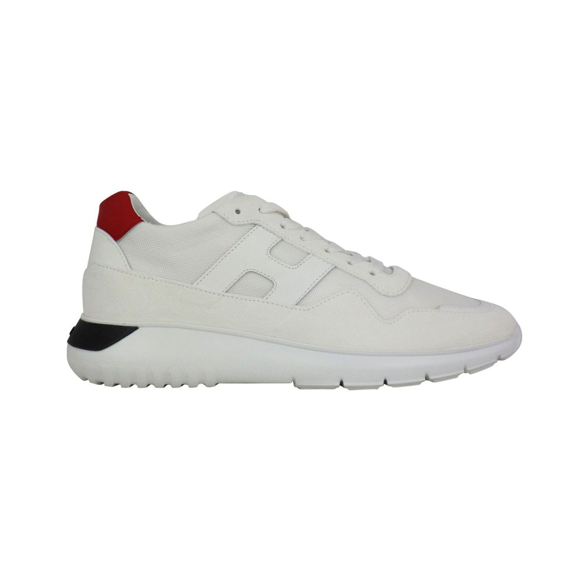 Interactive3 sneakers with contrasting heel detail White Hogan