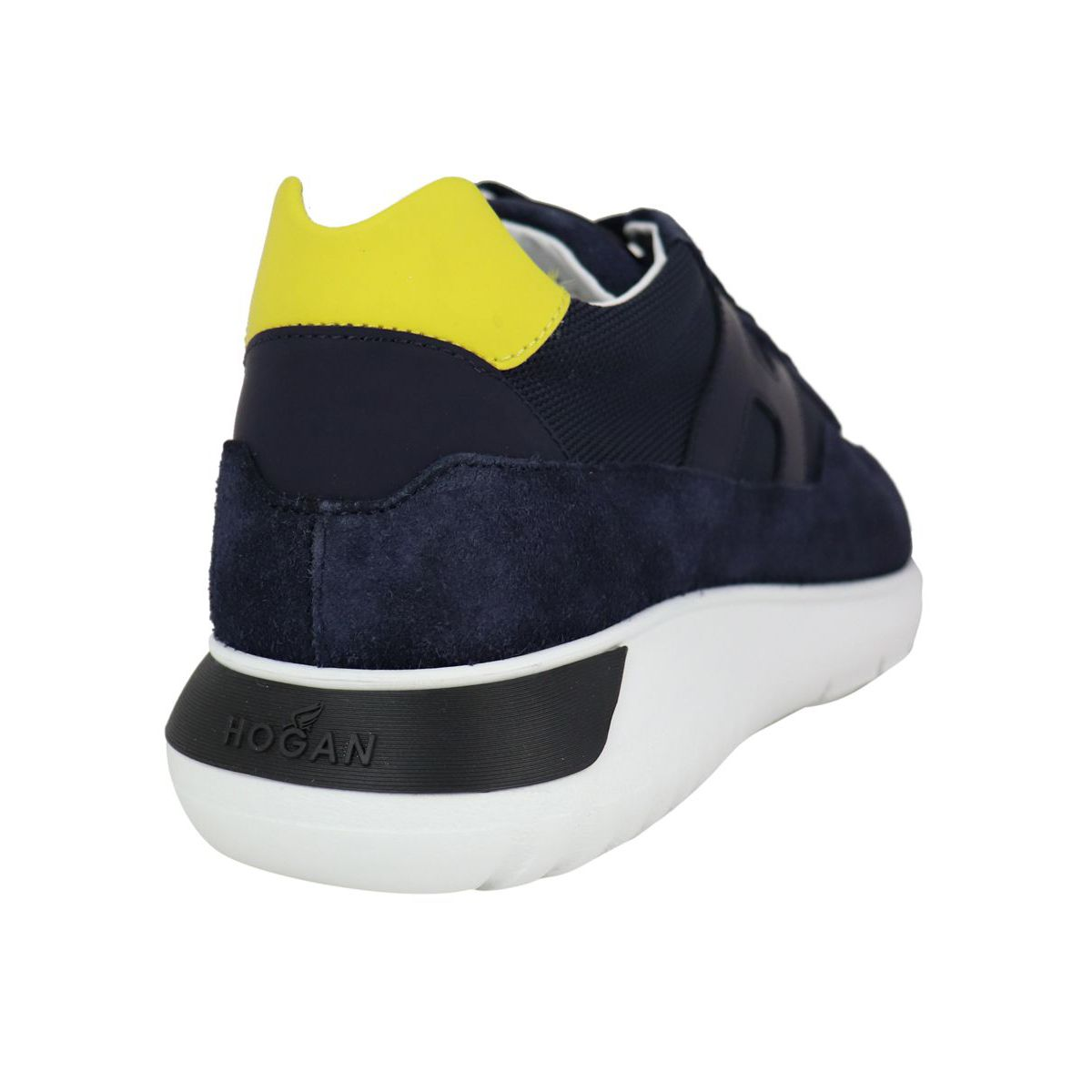 INTERACTIVE3 sneakers with contrasting back heel Blue Hogan