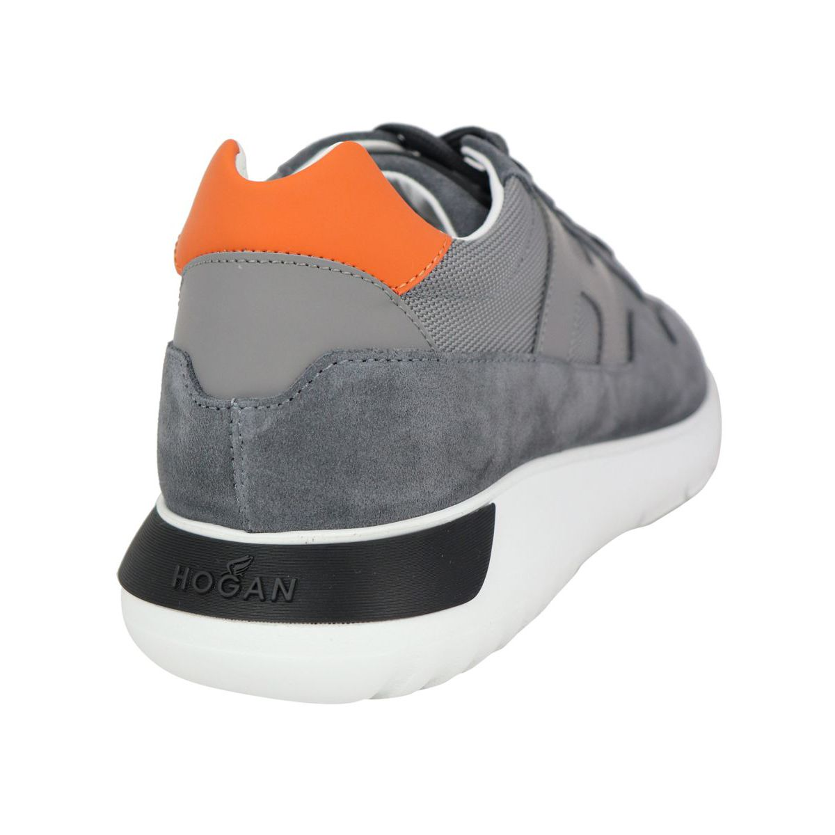 INTERACTIVE3 sneakers with contrasting back heel Grey Hogan