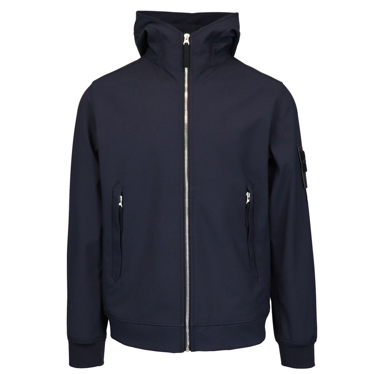 Light Soft Shell-R jacket Blue Stone Island