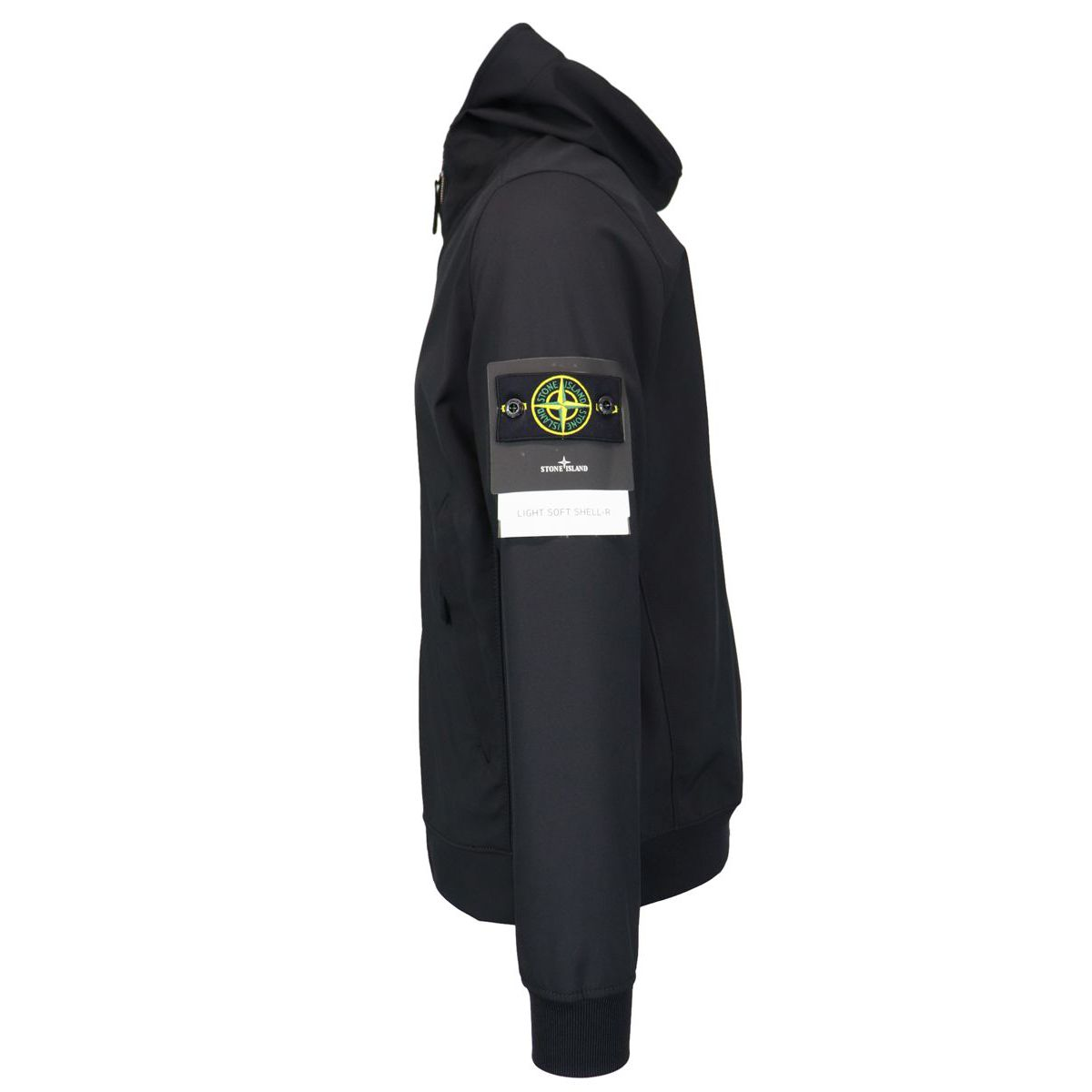 Light Soft Shell-R jacket Black Stone Island