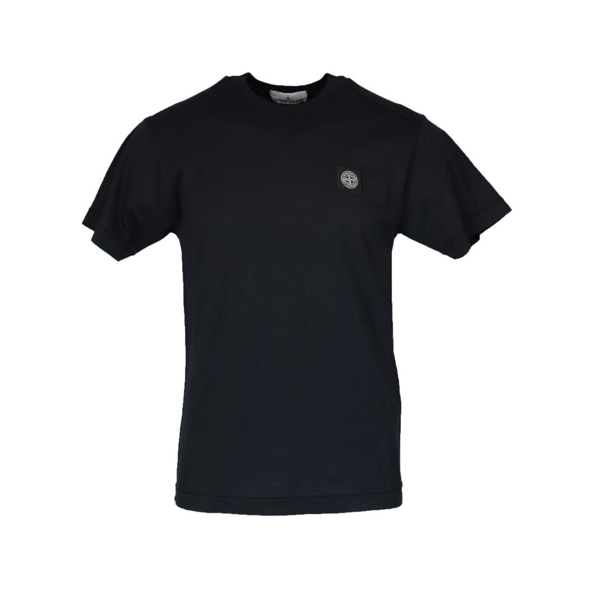 Cotton t-shirt with small logo Blue Stone Island