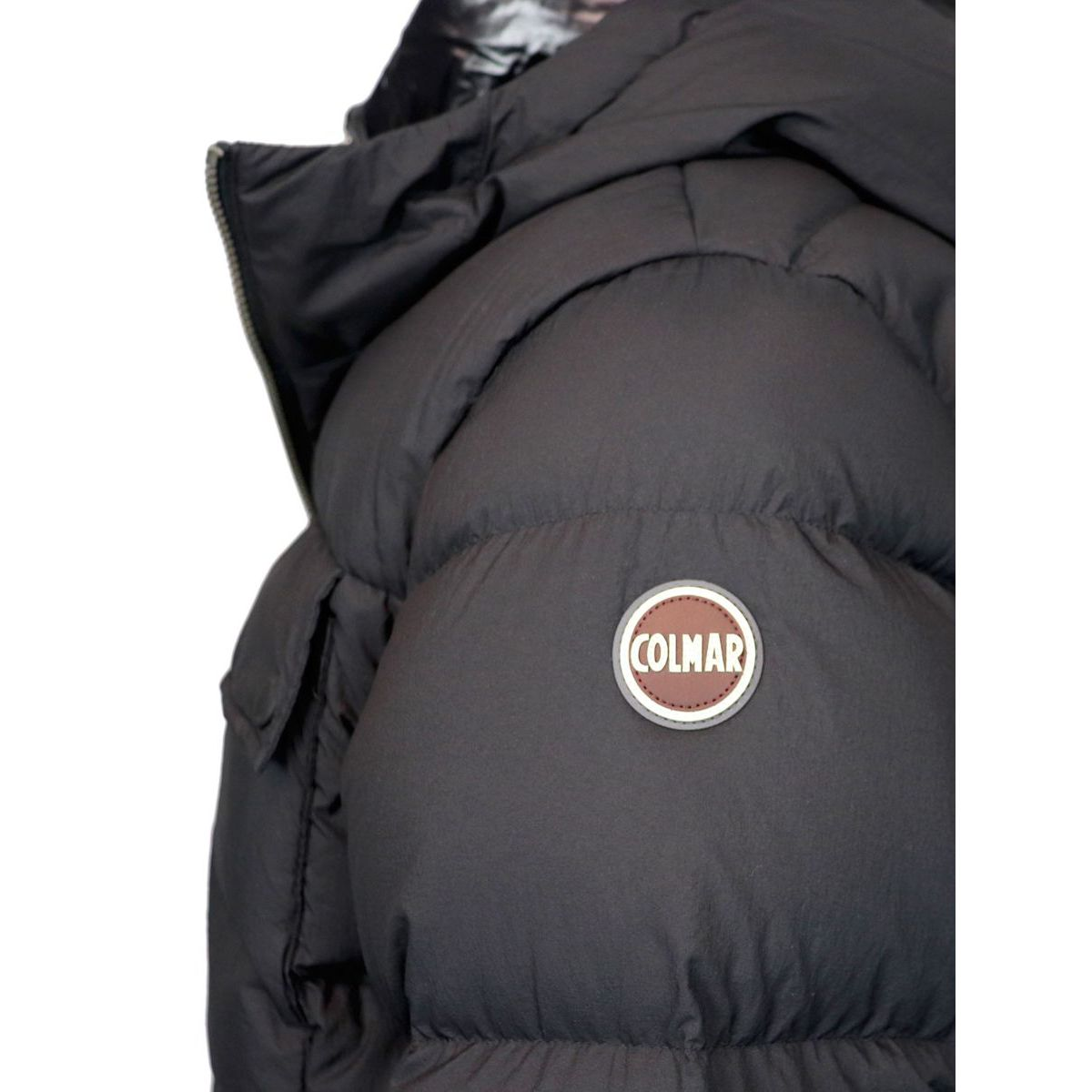 Long flack down jacket Black Colmar