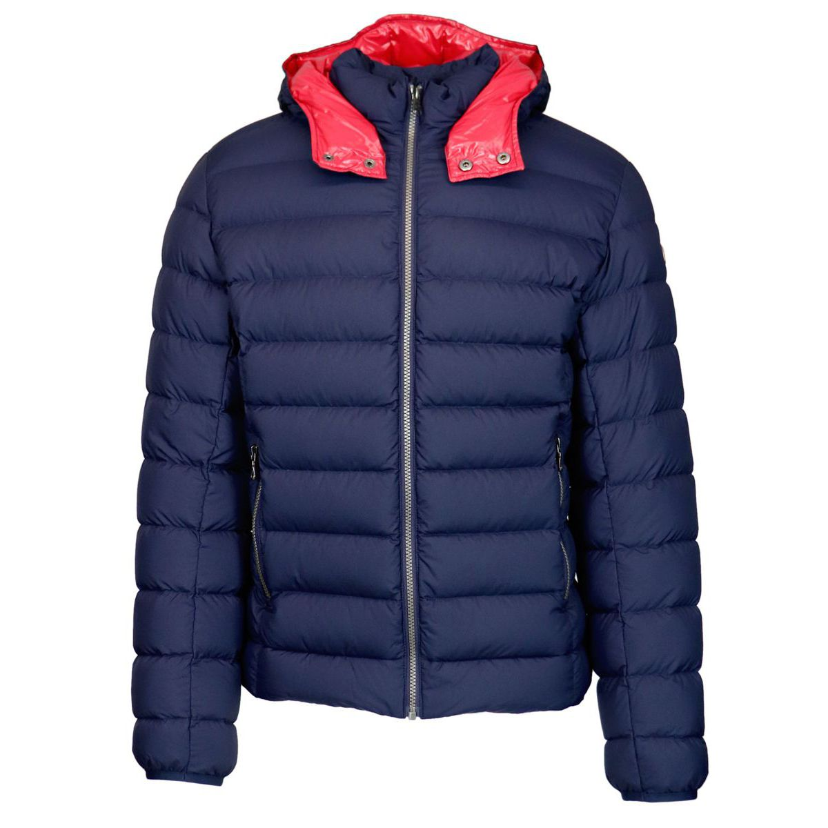 Hooded down jacket Blue Colmar