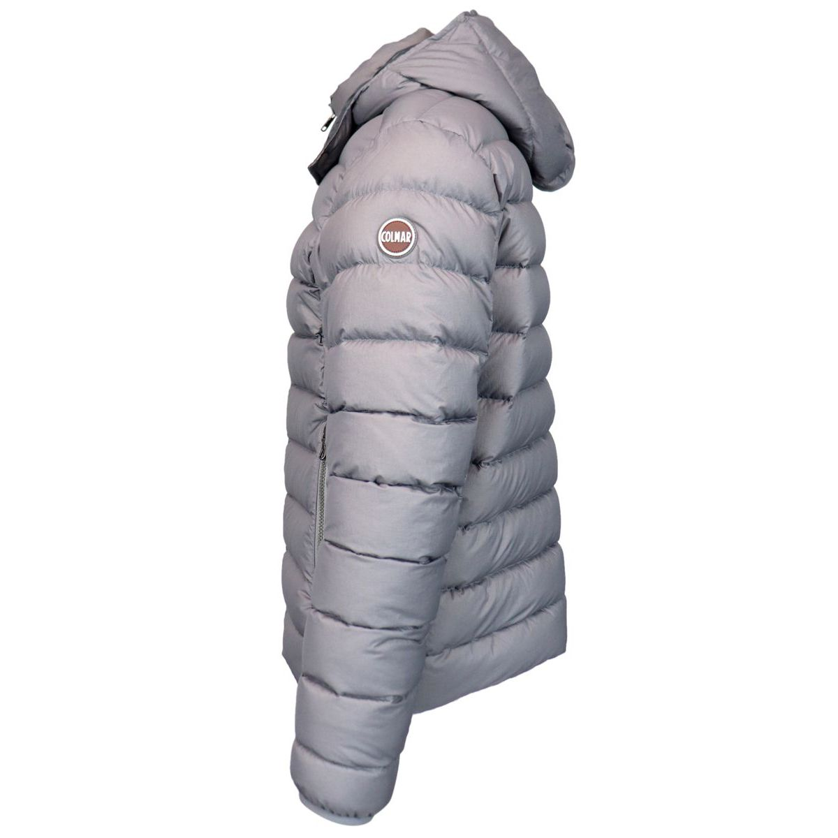 Hooded down jacket Grey Colmar