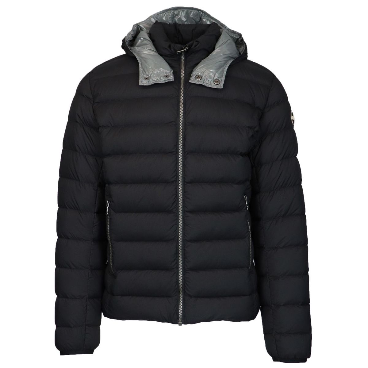 Hooded down jacket Black Colmar