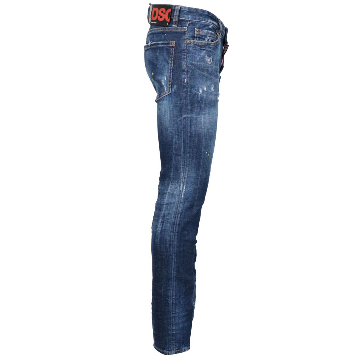 Five pocket SLIM jeans with breaks Denim Dsquared2