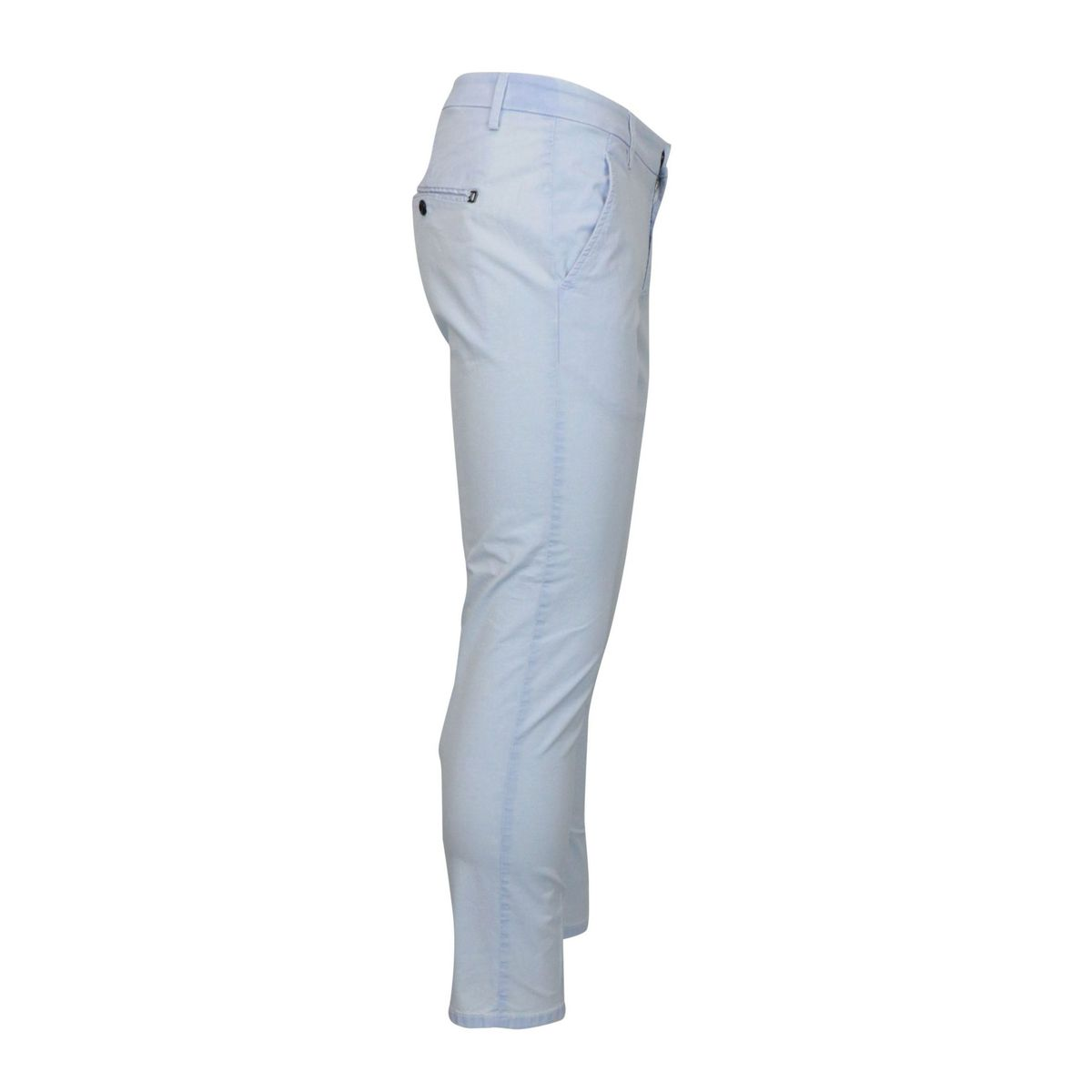Alfredo trousers in stretch cotton with america pocket Sky Dondup