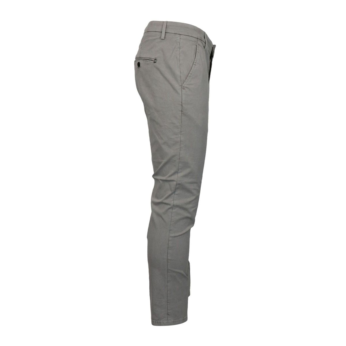 Alfredo trousers in stretch cotton with america pocket Light grey Dondup
