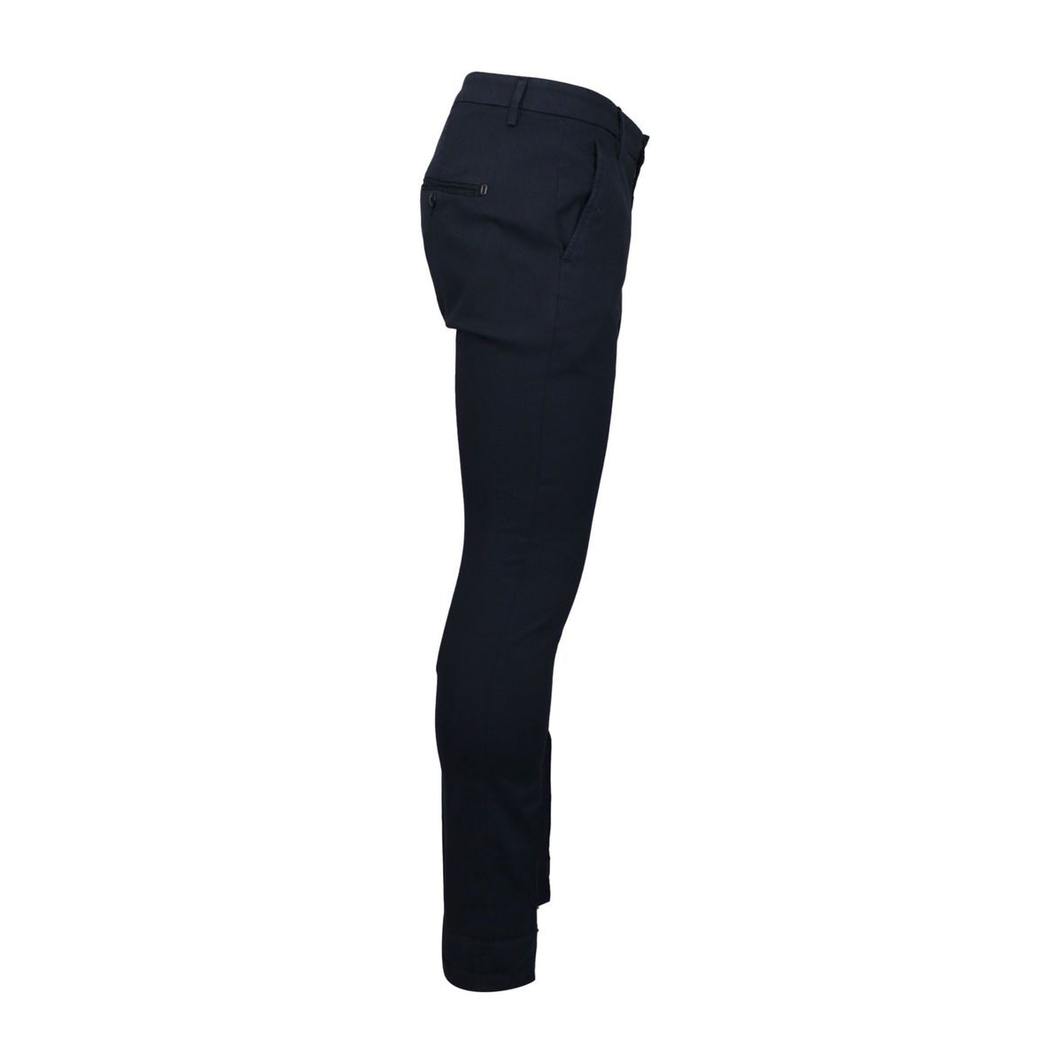 Gaubert stretch cotton trousers with america pocket Navy Dondup