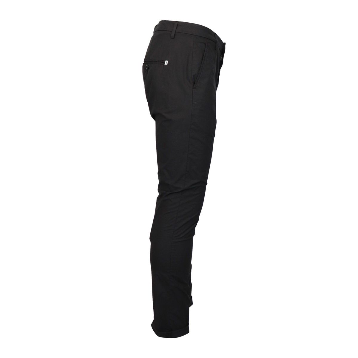 Gaubert trousers in light cotton with america pocket Black Dondup