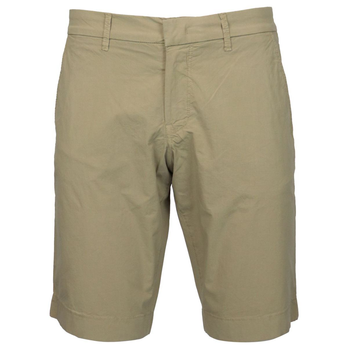 Garment-dyed cotton CHINO shorts Beige Fay