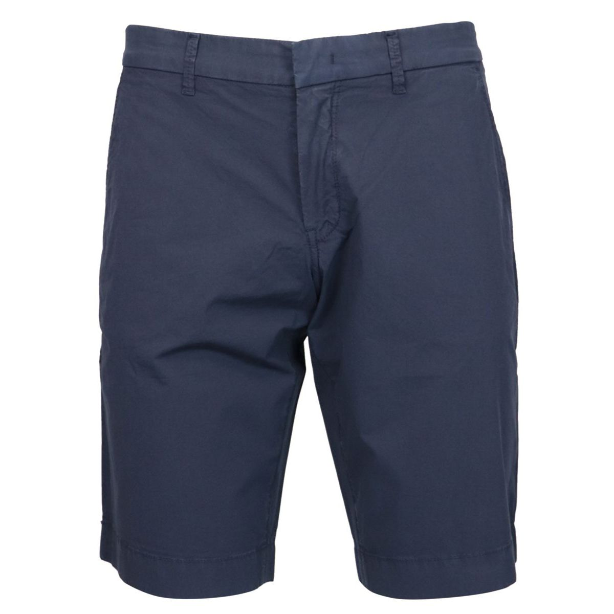 Garment-dyed cotton CHINO shorts Navy Fay