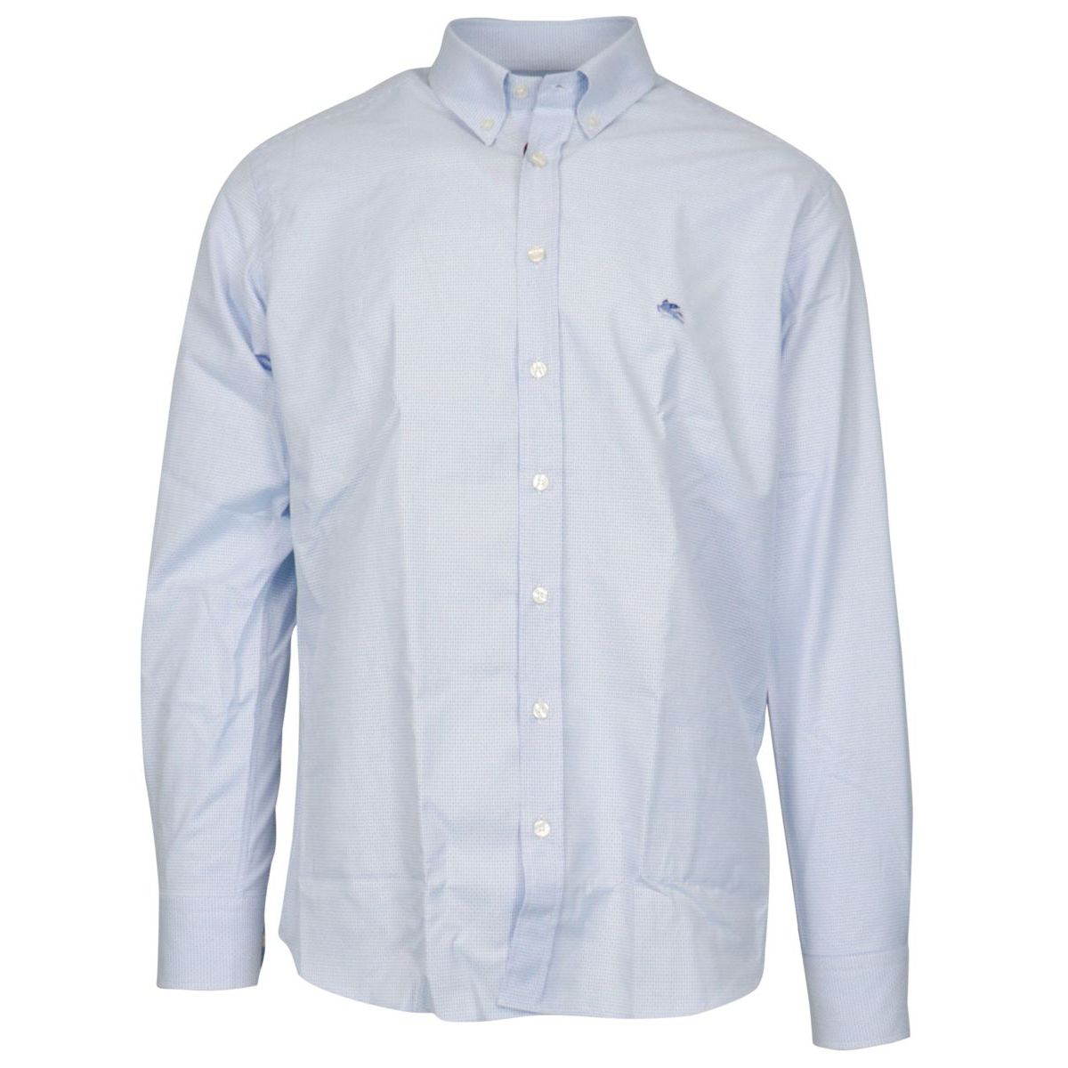 Button-down shirt in regular-fit cotton Heavenly Etro