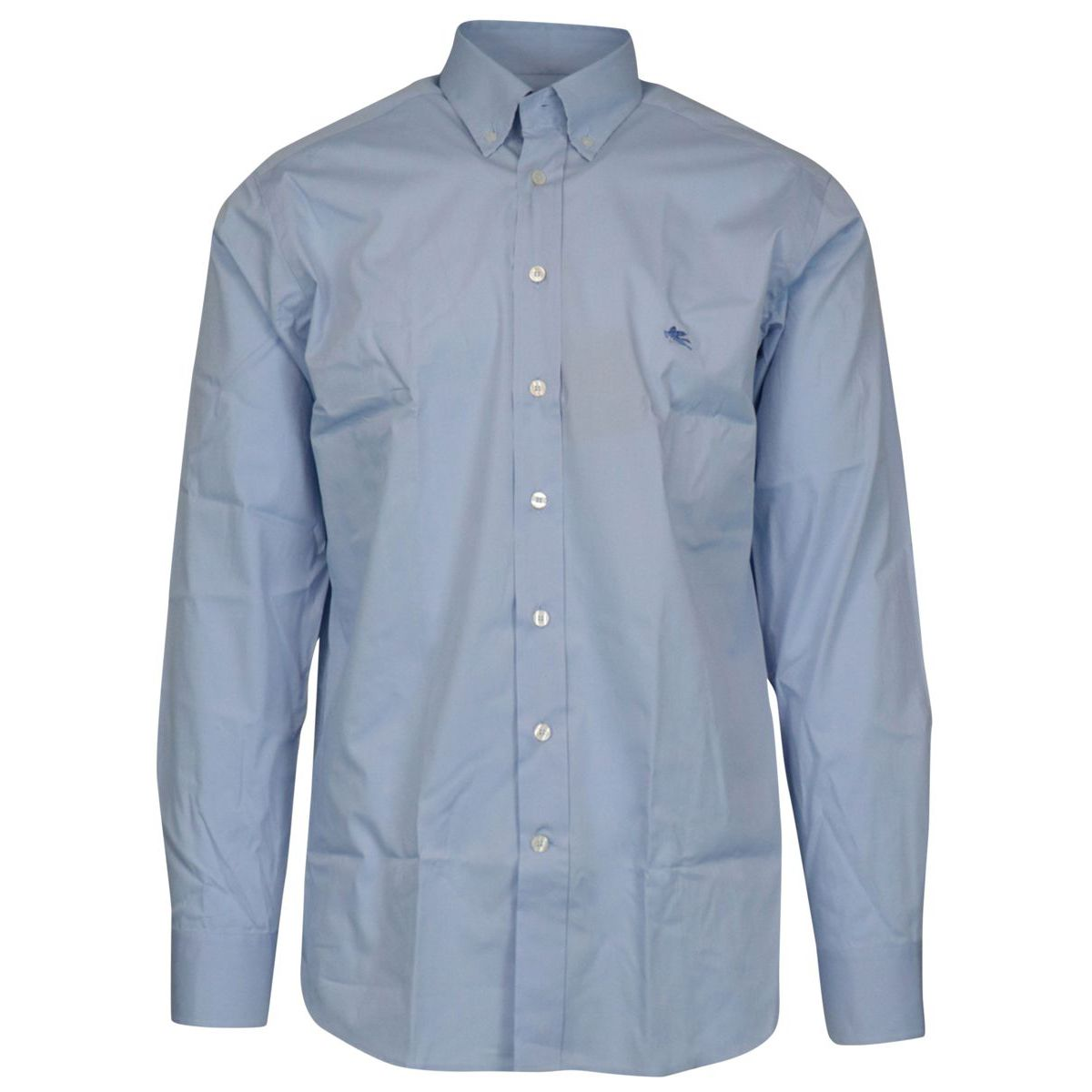 Regular-fit button-down shirt in cotton Heavenly Etro