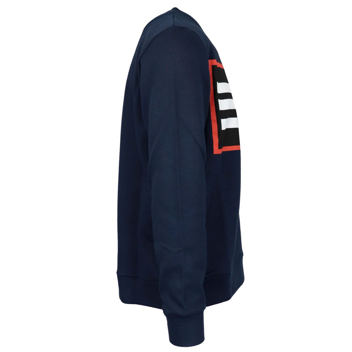 Crewneck cotton sweatshirt with logo print Blue Etro