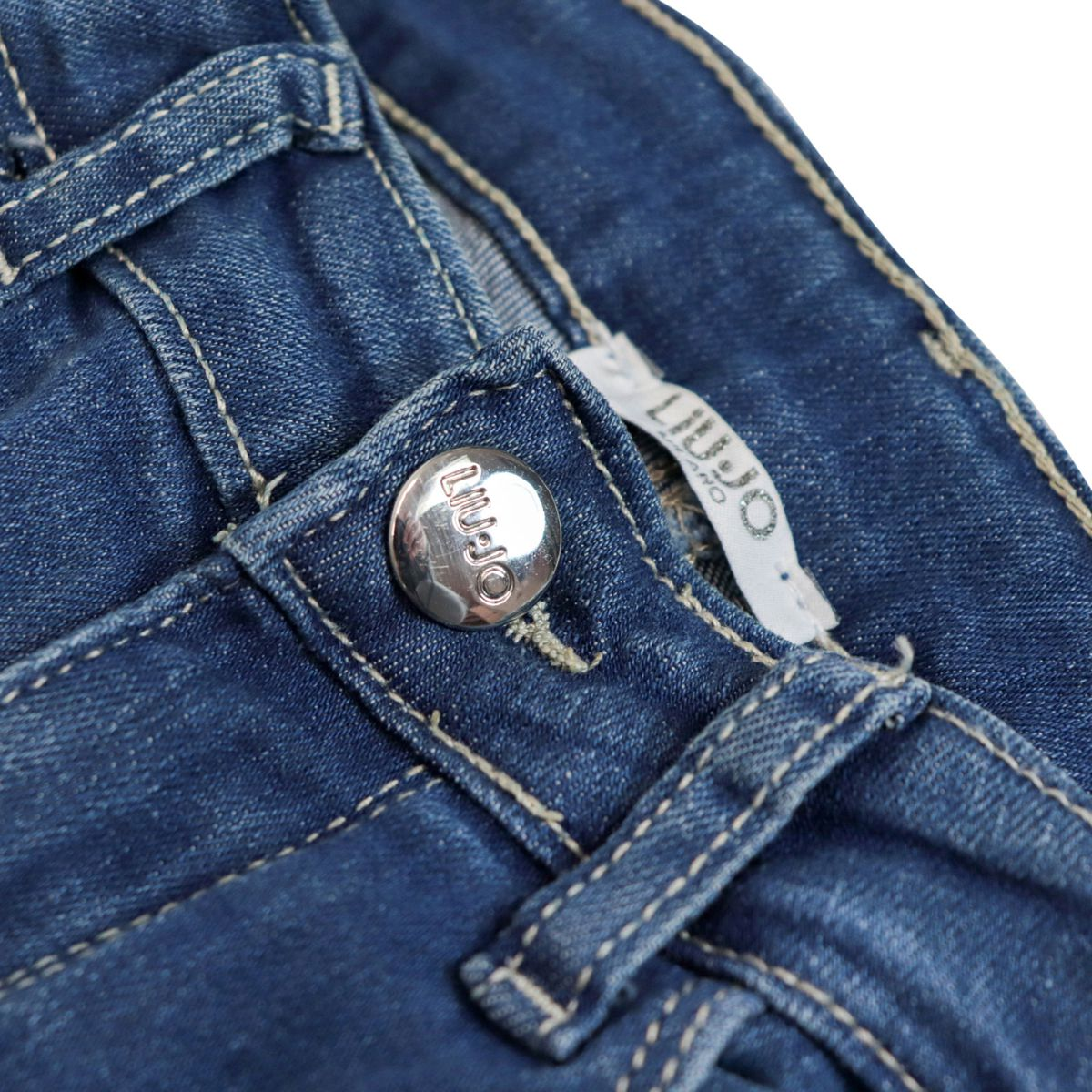 Skinny jeans with 5 medium denim pockets Medium denim Liu Jo