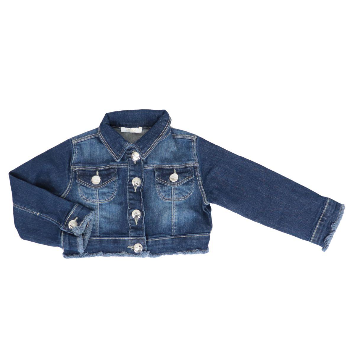 Denim denim jacket with stonewash wash Denim Liu Jo