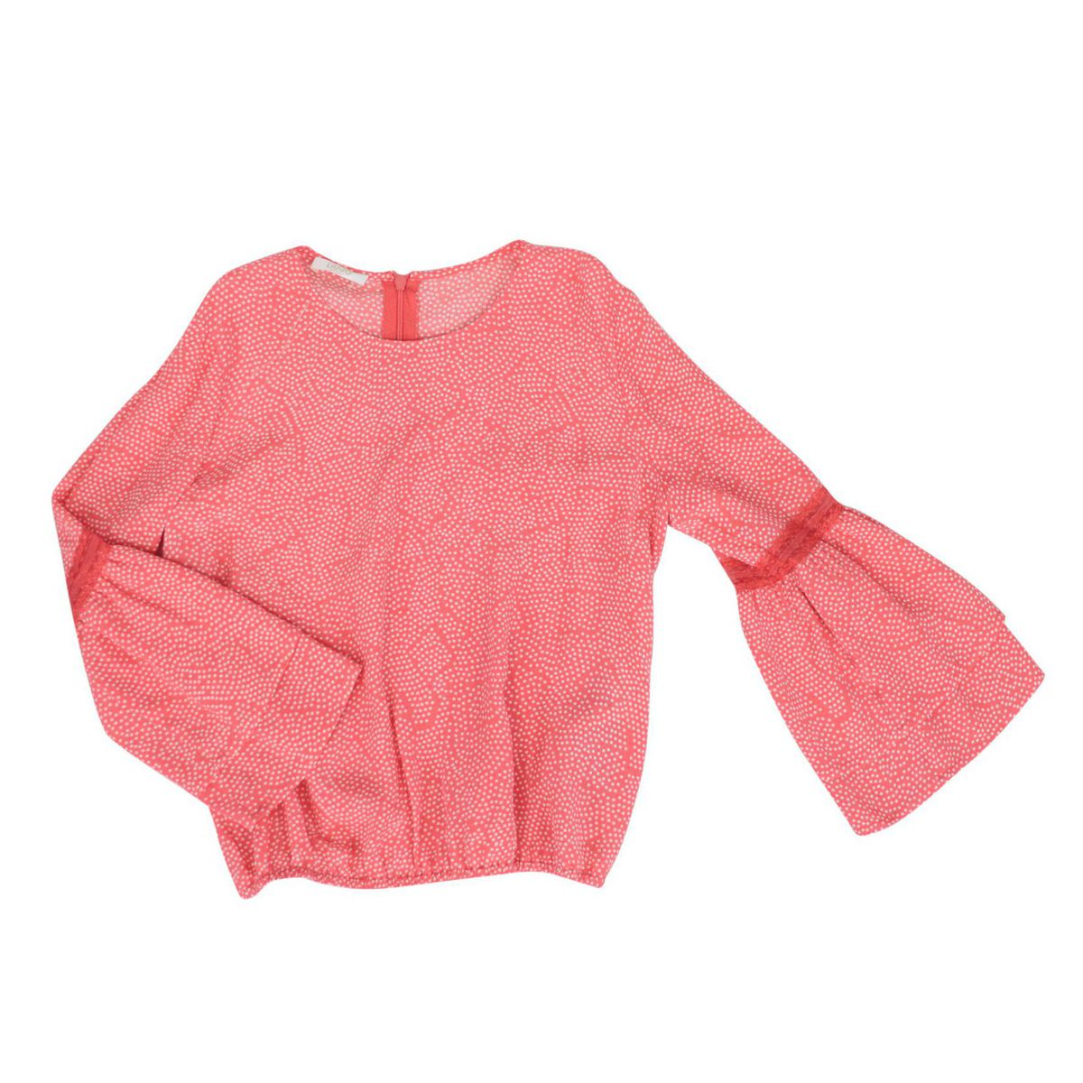 Viscose blouse with bell sleeves Coral Liu Jo