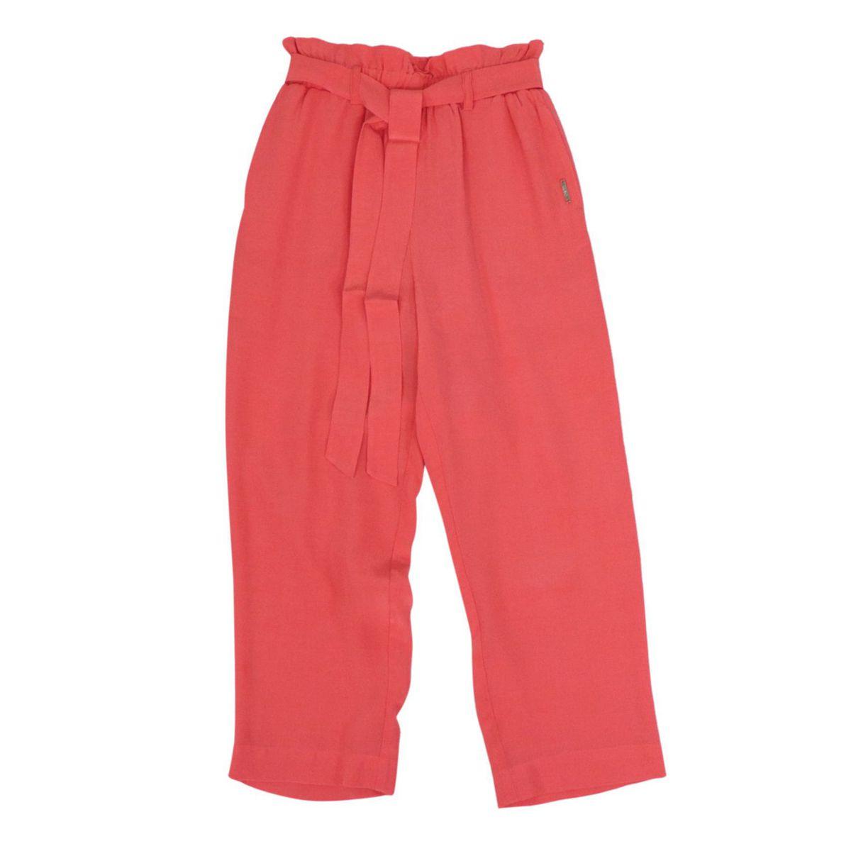 Carrot trousers in viscose Coral Liu Jo
