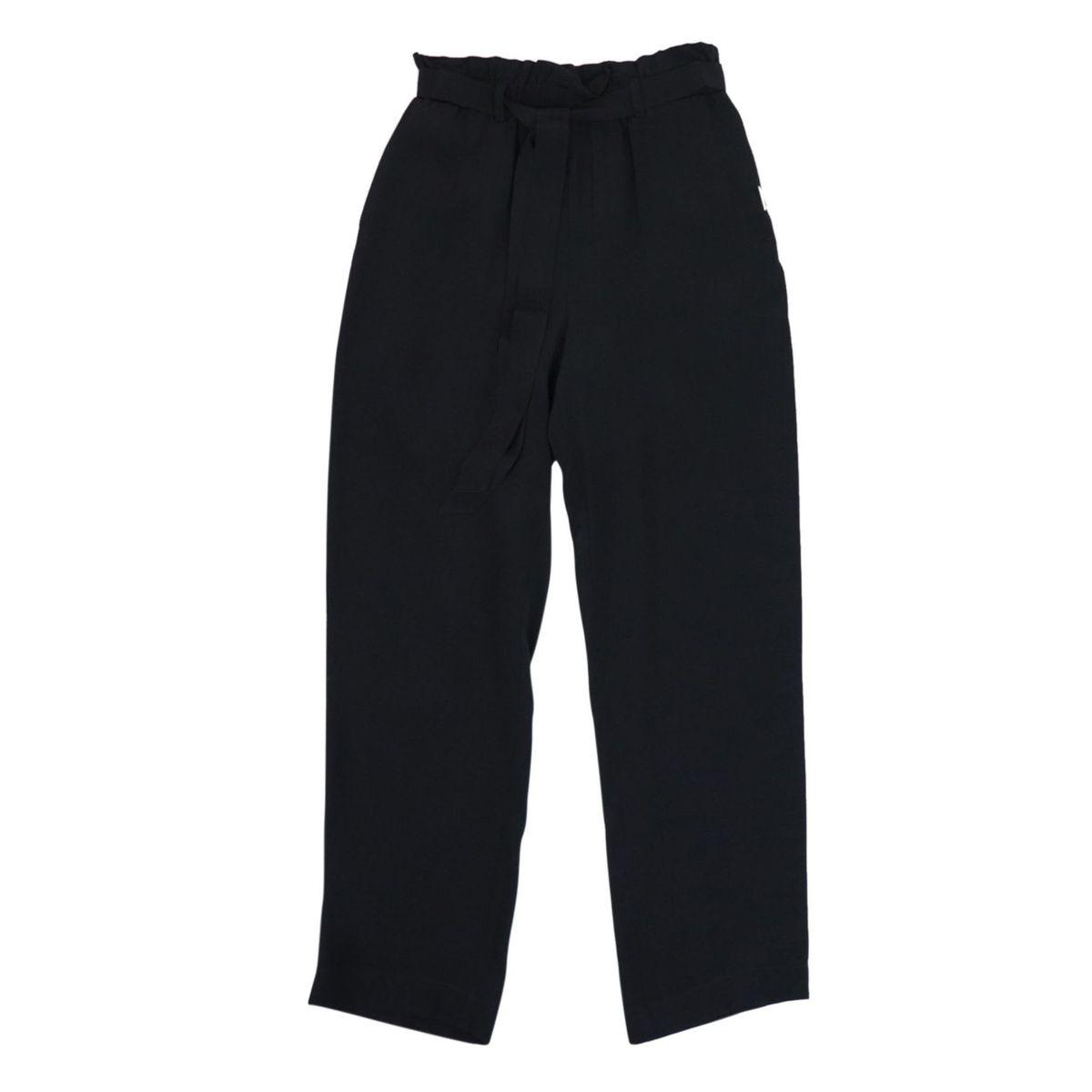 Carrot trousers in viscose Black Liu Jo