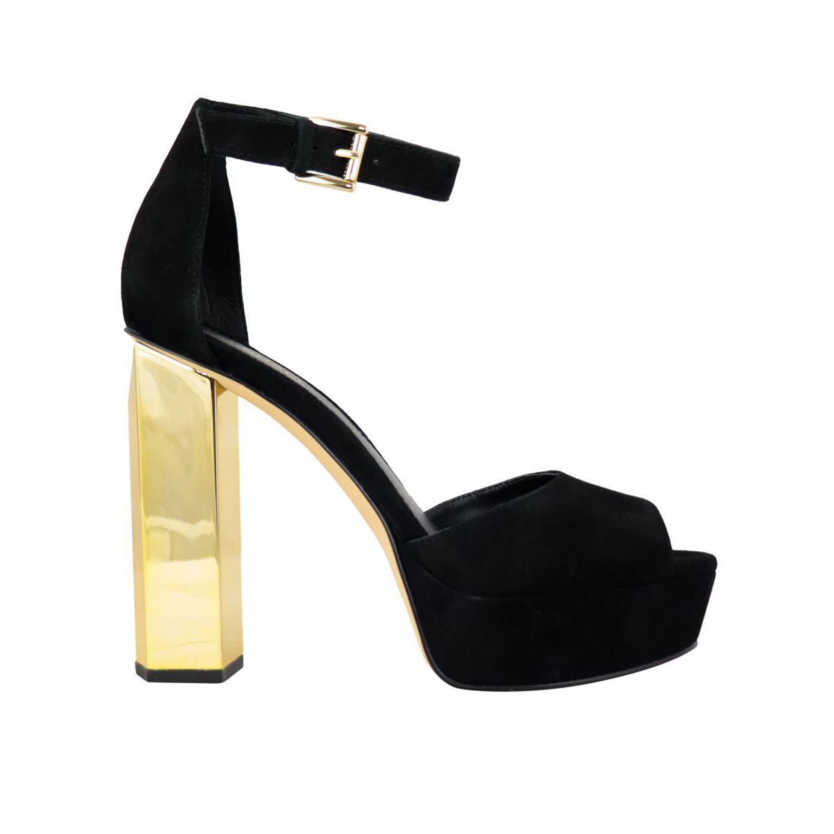 Sandal with heel PETRA PLATFORM Black Michael Kors