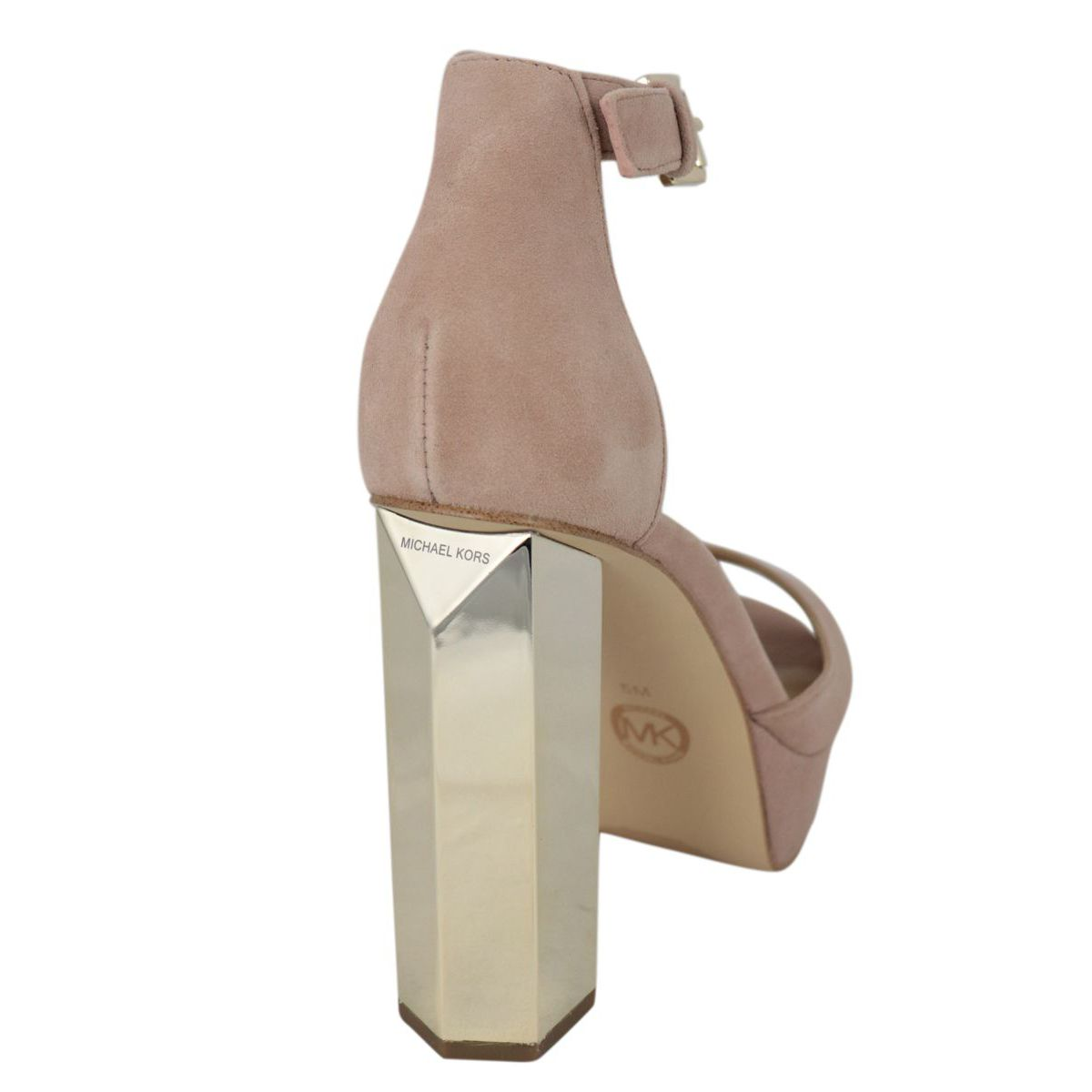 Sandal with heel PETRA PLATFORM Rose Michael Kors