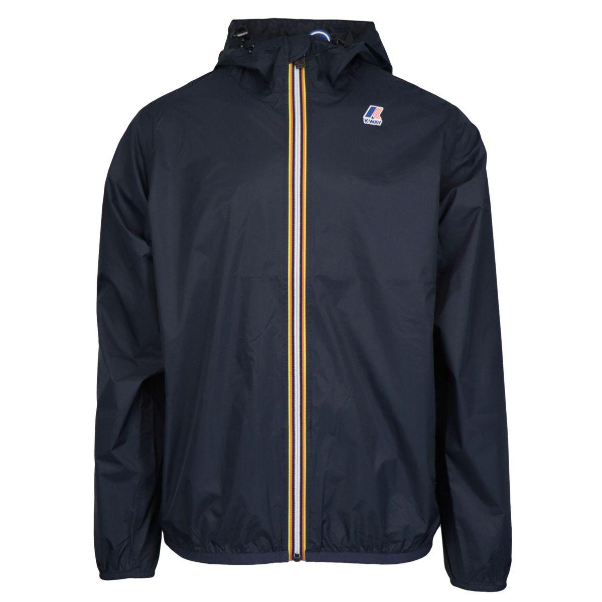LE VRAI 3.0 CLAUDE jacket in Ripstop nylon Night blue K-Way