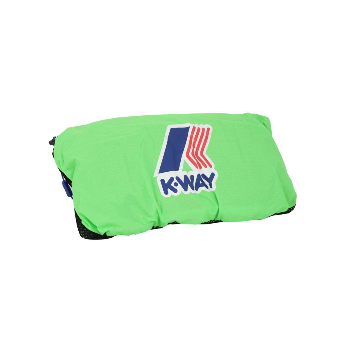 Le Vrai 3.0 Francois backpack Green K-Way