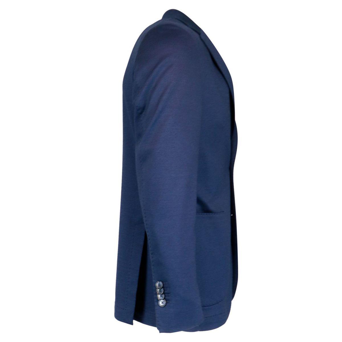 Two-button jacket in stretch cotton Indigo L.B.M. 1911