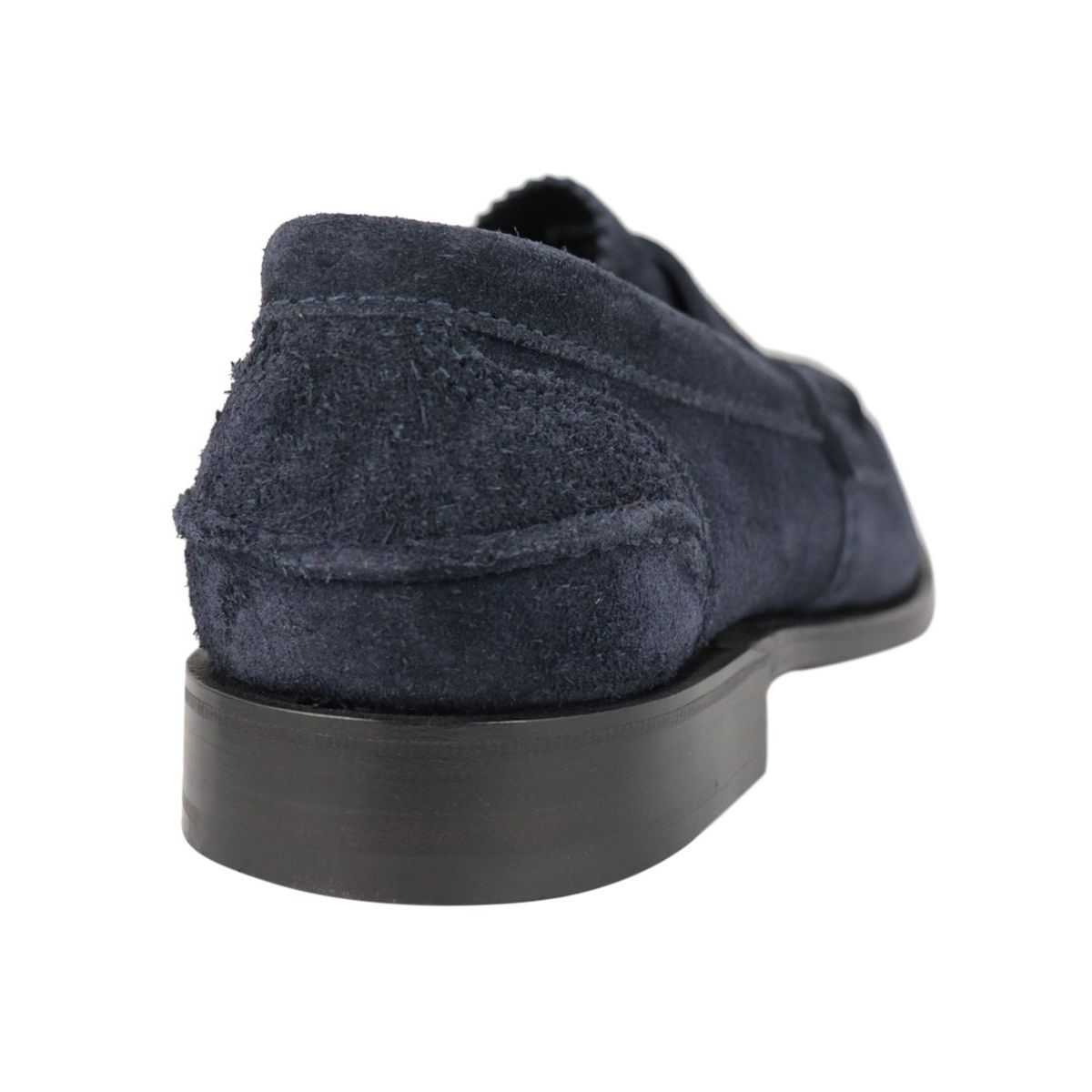 PEMBREY suede moccasin Navy Church's