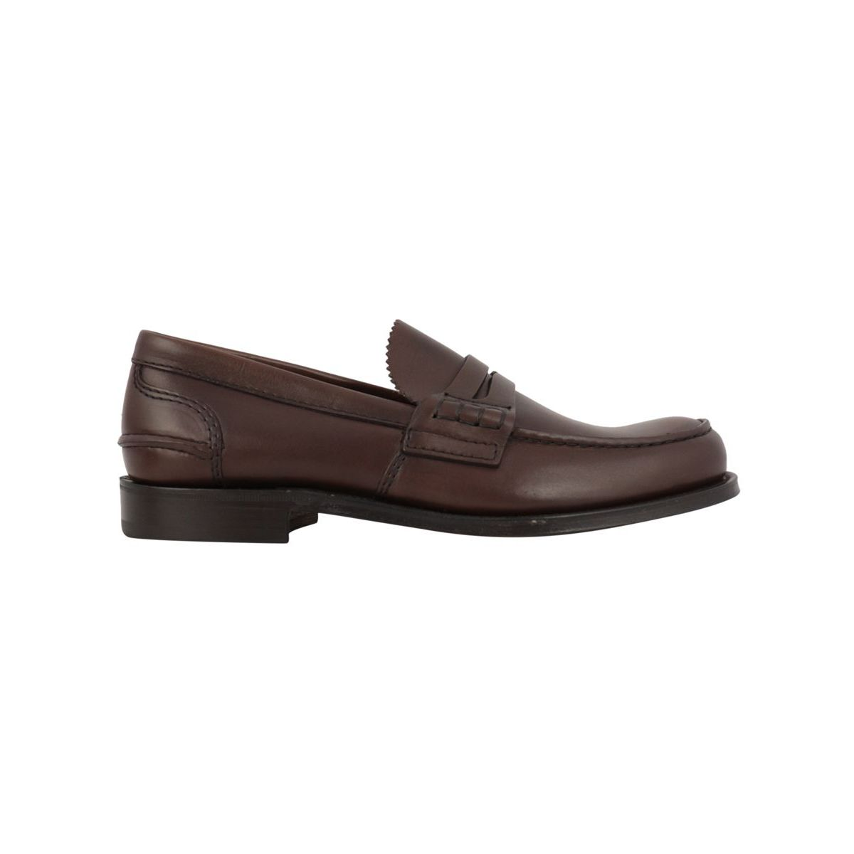 PEMBREY leather moccasin Cognac Church's