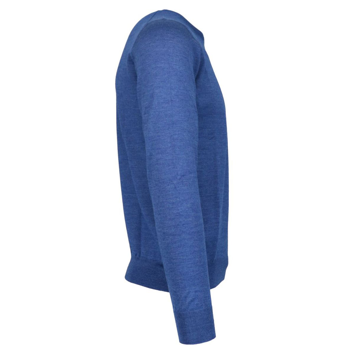 Crewneck pullover in wool and silk blend Royal Gran Sasso