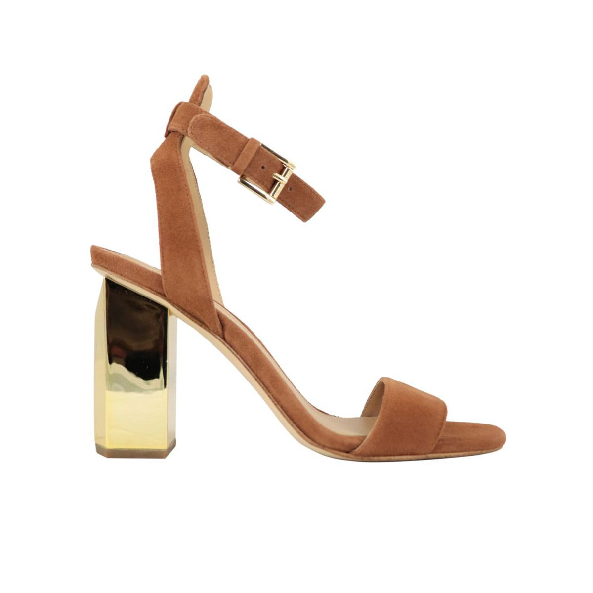Sandal PETRA ANKLE STRAP Leather Michael Kors