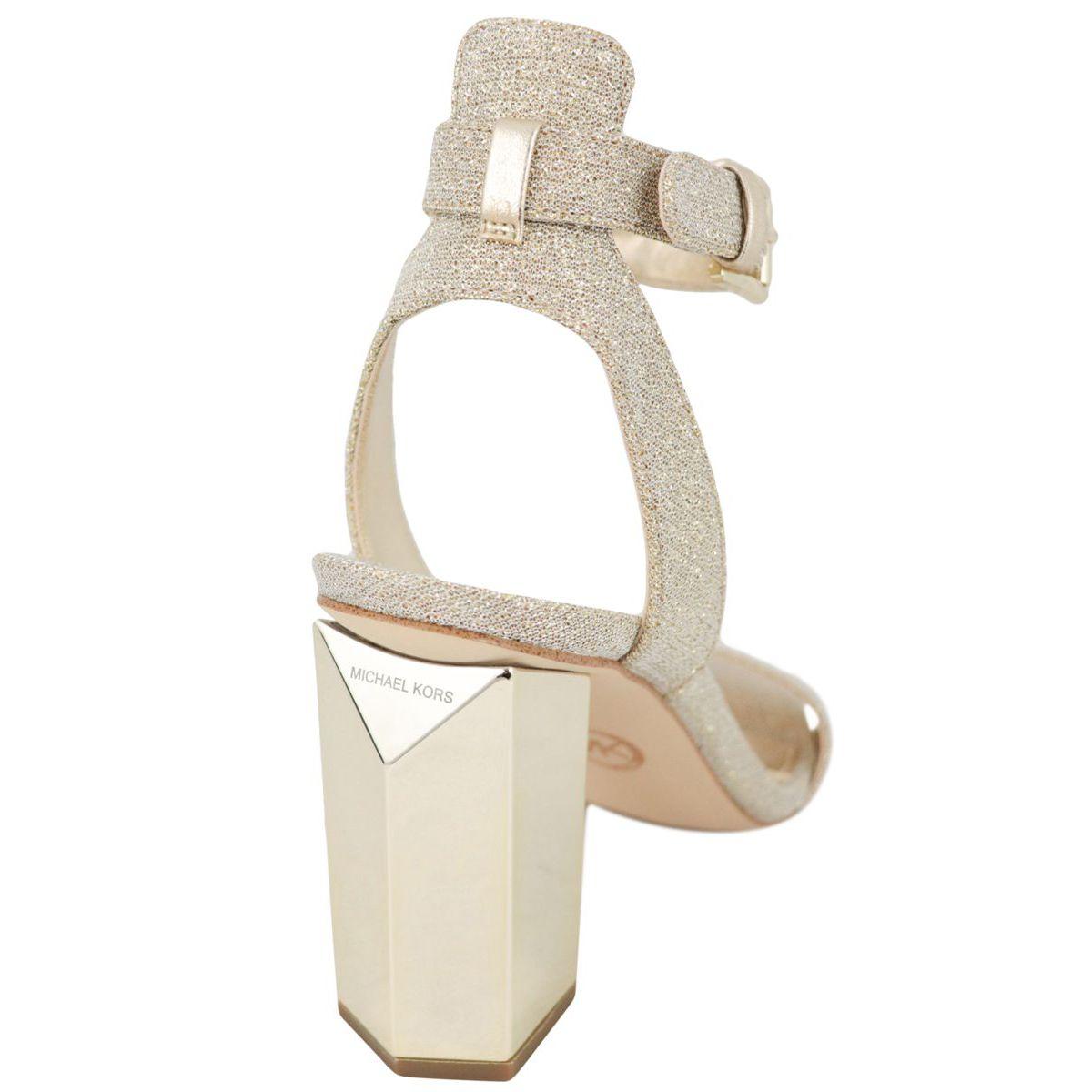 Sandal PETRA ANKLE STRAP Gold Michael Kors