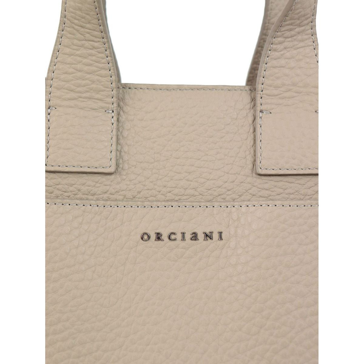Soft leather NORA bag Seashell Orciani