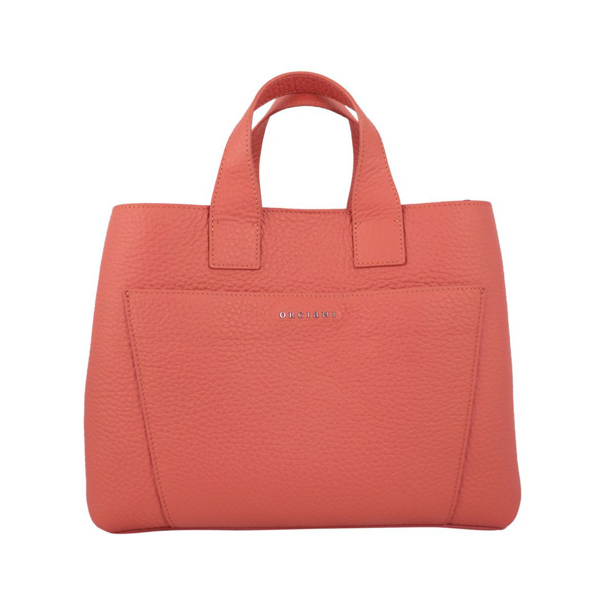 Soft leather NORA bag Coral Orciani